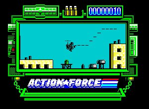 Pantallazo de Action Force para Spectrum