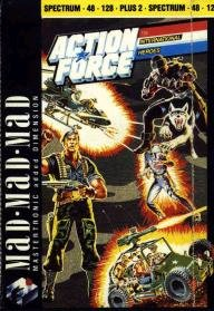 Caratula de Action Force para Spectrum