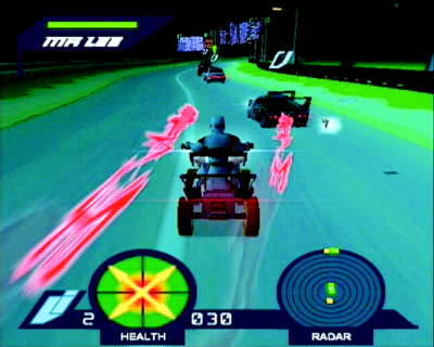 Pantallazo de Action Man ATOM: Alpha Teens on Machines para PlayStation 2