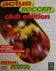 Caratula de Actua Soccer: Club Edition para PC