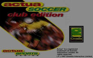 Pantallazo de Actua Soccer: Club Edition para PC