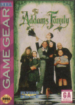 Caratula de Addams Family, The para Gamegear