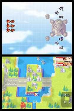 Pantallazo de Advance Wars: Dual Strike para Nintendo DS
