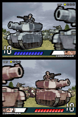 Pantallazo de Advance Wars Dark Conflict para Nintendo DS
