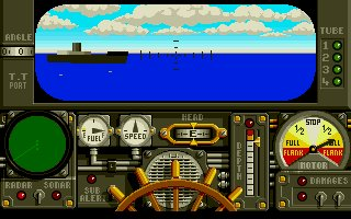Pantallazo de Advanced Destroyer Simulator para Atari ST