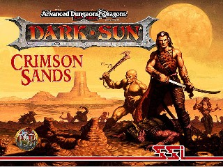 Caratula de Advanced Dungeons & Dragons: Dark Sun Online -- Crimson Sands para PC