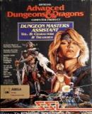 Carátula de Advanced Dungeons & Dragons: Dungeon Masters Assistant, Volume II: Characters & Treasures