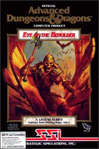 Caratula de Advanced Dungeons & Dragons: Eye of the Beholder para PC