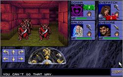 Pantallazo de Advanced Dungeons & Dragons: Eye of the Beholder para PC