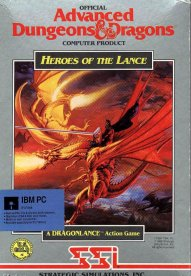 Caratula de Advanced Dungeons & Dragons: Heroes of the Lance para PC