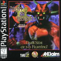 Caratula de Advanced Dungeons & Dragons: Iron & Blood -- Warriors of Ravenloft para PlayStation