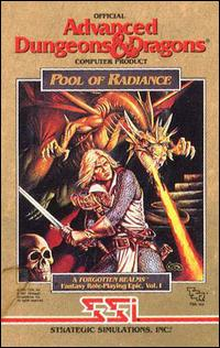 Caratula de Advanced Dungeons & Dragons: Pool of Radiance para PC