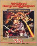 Carátula de Advanced Dungeons & Dragons: Pool of Radiance