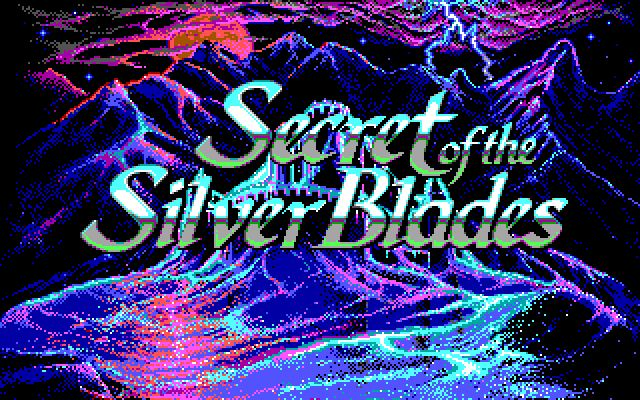 Pantallazo de Advanced Dungeons & Dragons: Secret of the Silver Blades para PC
