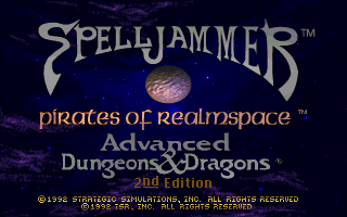 Pantallazo de Advanced Dungeons & Dragons: Spelljammer -- Pirates of Realmspace para PC
