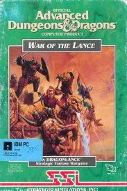 Caratula de Advanced Dungeons & Dragons: War of the Lance para PC