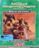 Carátula de Advanced Dungeons & Dragons: War of the Lance