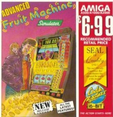 Caratula de Advanced Fruit Machine Simulator para Amiga