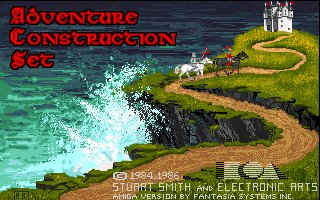 Pantallazo de Adventure Construction Set para Amiga