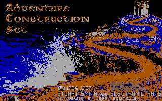 Pantallazo de Adventure Construction Set para PC