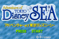 Pantallazo de Adventure of Tokyo Disney Sea (Japonés) para Game Boy Advance
