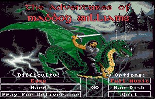 Pantallazo de Adventures Of Maddog Williams In The Dungeons Of Duridian, The para Amiga