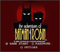 Pantallazo de Adventures of Batman & Robin, The para Super Nintendo