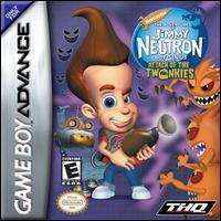 Caratula de Adventures of Jimmy Neutron Boy Genius: Attack of the Twonkies, The para Game Boy Advance