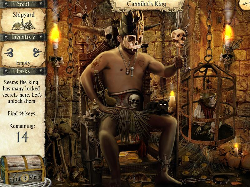 Pantallazo de Adventures of Robinson Crusoe para PC