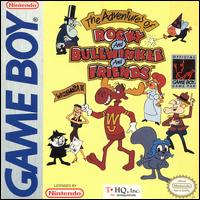 Caratula de Adventures of Rocky and Bullwinkle and Friends, The para Game Boy