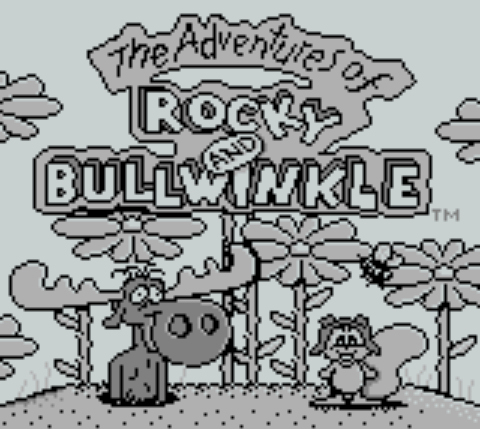 Pantallazo de Adventures of Rocky and Bullwinkle and Friends, The para Game Boy