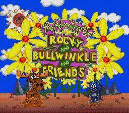 Pantallazo de Adventures of Rocky and Bullwinkle and Friends, The para Sega Megadrive