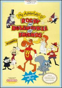 Caratula de Adventures of Rocky and Bullwinkle and Friends, The para Nintendo (NES)