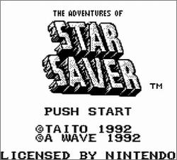 Pantallazo de Adventures of Star Saver, The para Game Boy
