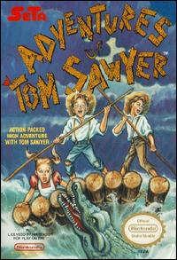 Caratula de Adventures of Tom Sawyer para Nintendo (NES)