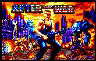 Pantallazo de After The War para Amstrad CPC