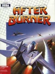 Caratula de Afterburner para Commodore 64