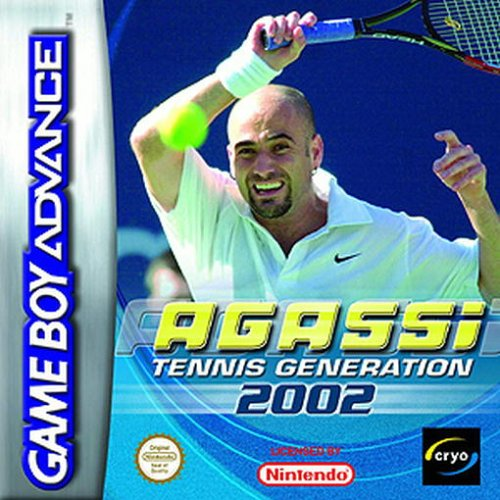 Caratula de Agassi Tennis Generation 2002 para Game Boy Advance