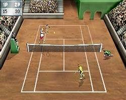Pantallazo de Agassi Tennis Generation 2002 para Game Boy Advance