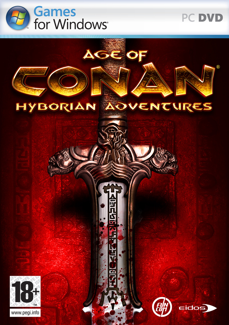 Caratula de Age of Conan: Hyborian Adventures para PC