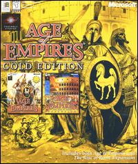 Caratula de Age of Empires: Gold Edition para PC