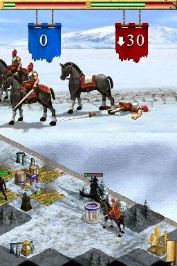 Pantallazo de Age of Empires: Mythologies para Nintendo DS