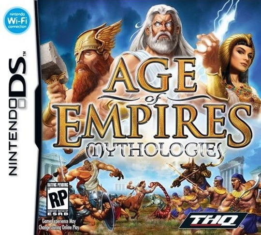 Caratula de Age of Empires: Mythologies para Nintendo DS