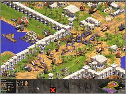 Pantallazo de Age of Empires: The Rise of Rome Expansion para PC