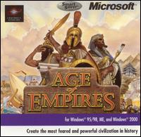 Caratula de Age of Empires [SmartSaver Series] para PC