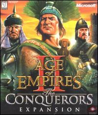 Caratula de Age of Empires II: The Conquerors Expansion para PC