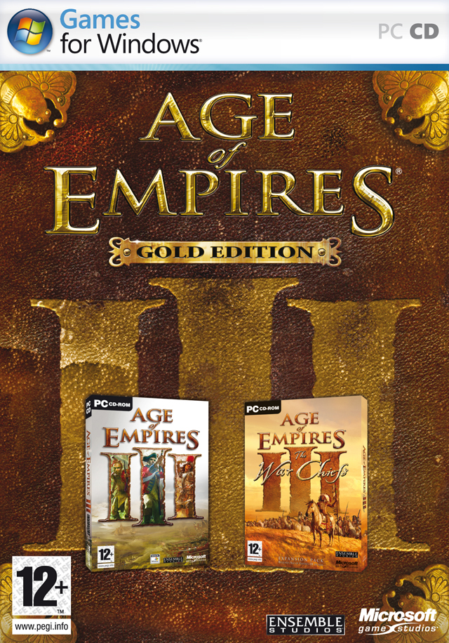 Caratula de Age of Empires III Gold Edition para PC