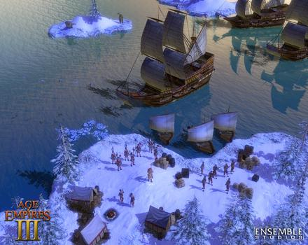 Pantallazo de Age of Empires III para PC