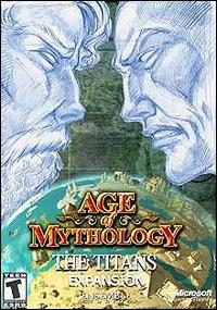Caratula de Age of Mythology: The Titans para PC