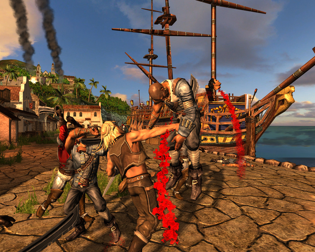 Pantallazo de Age of Pirates: Captain's Blood para Xbox 360